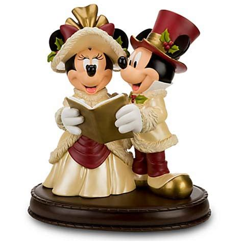 disney big figure statue mickey minnie christmas