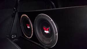 Rockford Fosgate Punch Power 10 Inch Subwoofers On 750