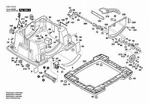 Bosch 4100 Table Saw Parts List