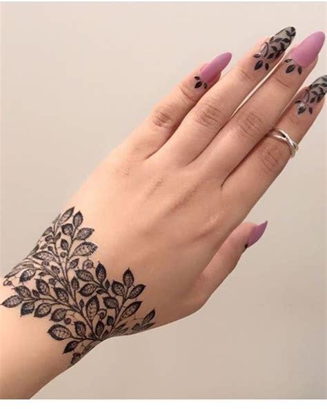 latest beautiful wrist henna mehndi designs   girls    pretty tattoos