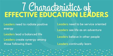 characteristics  effective education leaders ascd