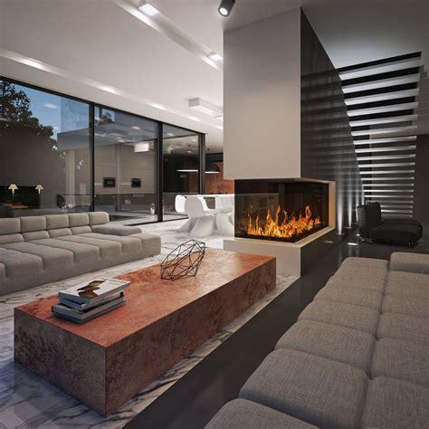 and in livingroom black white designed by studio o organic design