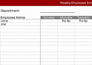 daily work schedule template download free premium With weekly work schedule template free download