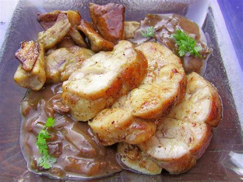 cuisiner le ris de veau ris de veau aux cépes sauce vigneronne a boire et à manger