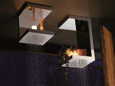 overhead shower head shelves bougies  ritmonio