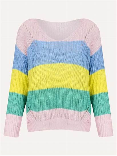 Rainbow Sweater Pastels Sweaters Jumpers