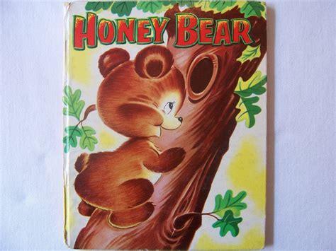 Vintage 1950's Children's Book Honey Bear