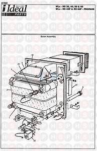 Ideal Concord Wlx Rs 45p Appliance Diagram  Boiler