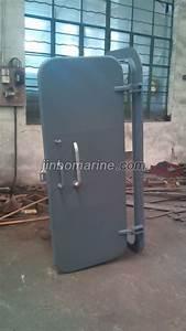 marine steel quick acting weathertight door with single With weather tight dog door
