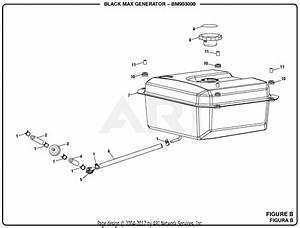 Homelite Bm903000 3000 Watt Generator Parts Diagram For