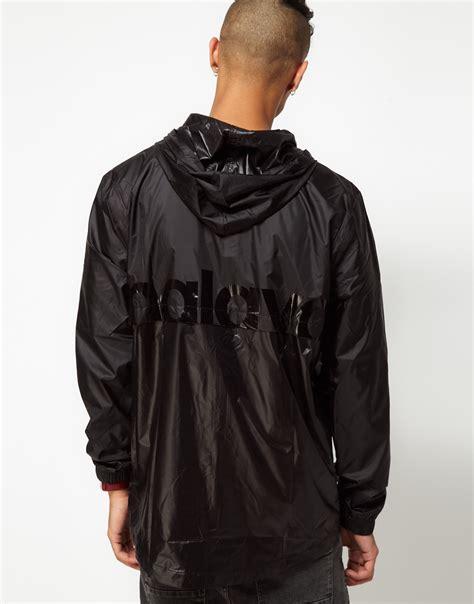 black cycling jacket lyst puma cycling jacket in black for men