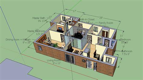 google sketchup bungalow model bungalow layout cloud atlas