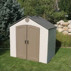 lifetime 8 x 5 resin storage shed sam s club