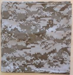 Desert Digital Camo MILITARY CAMO BANDANA BDU ARMY MARINE Iraq Afghanistan