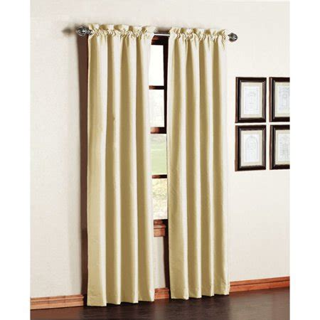 Walmart Thermal Drapes - premiere thermal backed energy efficient curtain panels