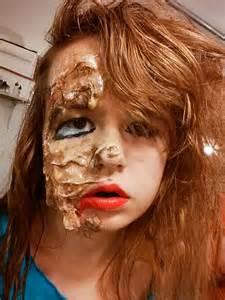 Melting Face Makeup