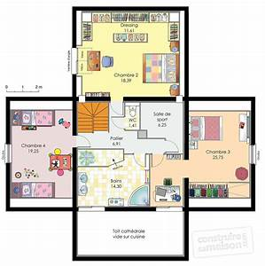 maison d39architecte detail du plan de maison d With plan de petite maison 18 les rituels pour les enfants