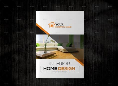 interior design brochures  psd vector eps