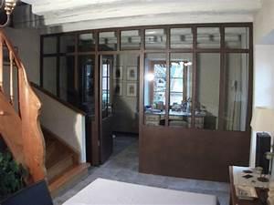 Verriere Interieure Metallique : verriere de separation interieure ~ Premium-room.com Idées de Décoration