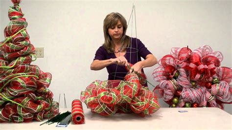 christmas items you tube wreaths how to make a deco poly mesh tree