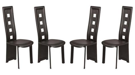 chaises salon pas cher table rabattable cuisine chaises noires pas cher