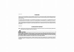 2006 Hyundai Tucson Owners Manual