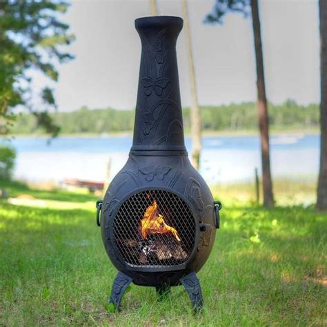 Chimineas Direct by Butterfly Gas Chiminea
