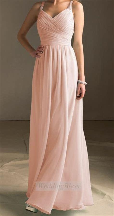 light blush pink dress light blush bridesmaid dress pearl pink long evening dress