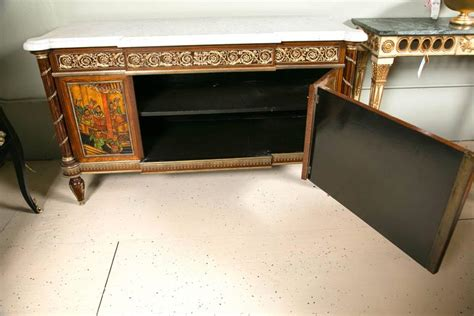 30379 furniture pieces capable pair of louis xvi style monumental compatible