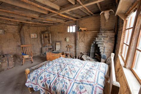 wild west historic ranch house interior arizona stock photo image  pioneer brick