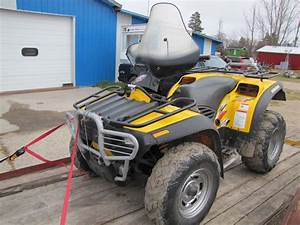2002 Bombardier Traxter Xt Atv 4x4 Quad  Subject To
