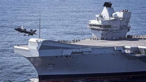 the royal f my observations and questions after finally seeing f 35bs operate from hms elizabeth the