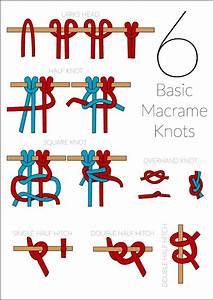 6 Basic Macrame Knots