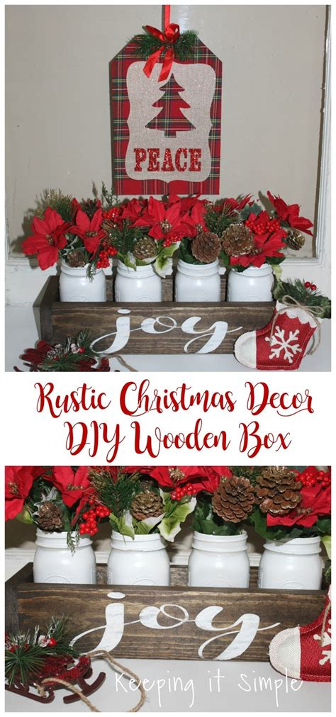 Rustic Christmas Decor Diy Wooden Box • Keeping It Simple. Lighted Christmas Yard Decorations. Crazy Store Christmas Decorations. Christmas Ornaments To Make Using Glass Balls. Jewelry Store Christmas Decorations. A Nightmare Before Christmas Christmas Decorations. Making Christmas Decorations With Air Dry Clay. Best Christmas Decorations Ever. Paper Mache Christmas Decorations Bulk