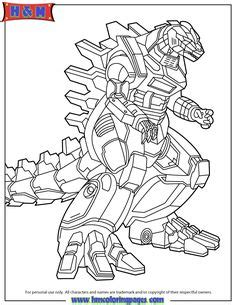 printable godzilla coloring pages  kids great
