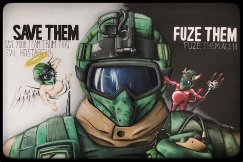 Fuze Memes - the struggle of fuze s mind rainbow6