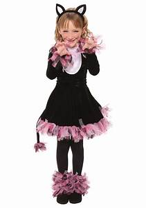 Girls Black Cat Costume