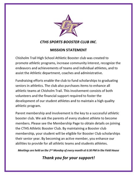 cths sports club overview