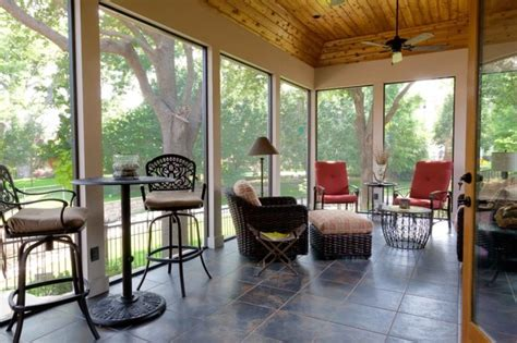 pic of screened porch to enclosed room studio design