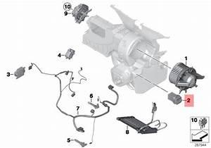 Genuine Bmw R55 R55n R56 R56n R57 Heater Fan Blower