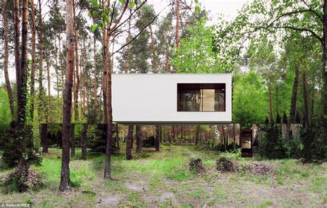 Home Mirror : Poland's Mirror House Is The Perfect Place For Some Quiet