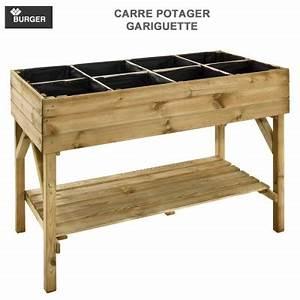 Carré Potager Haut : carr potager bois haut kub 80 ~ Carolinahurricanesstore.com Idées de Décoration