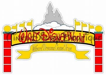 Disneyland Clipart Disney Svg Walt Transparent Webstockreview