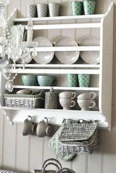 ikea stenstorp shelf plate shelves shabby chic kitchen chic kitchen