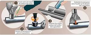 Réparer Une Gouttière En Zinc : mastic goutti re zinc rev tements modernes du toit ~ Premium-room.com Idées de Décoration