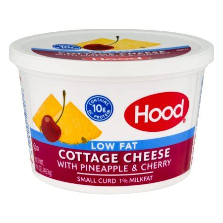 flavored cottage cheese 1 milk pineapple cherry flavored small curd