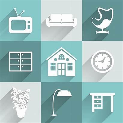 Interior Furniture Icons Icon Vector Illustration Vecteezy