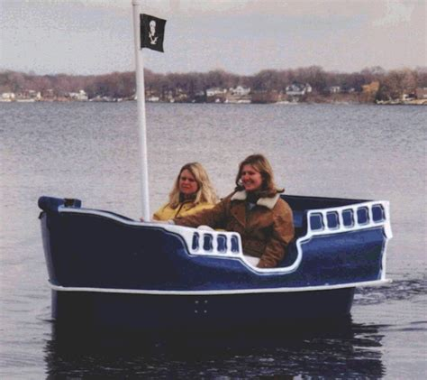 Paddle Boat In Spanish by Pirate Ship Pedal Boat