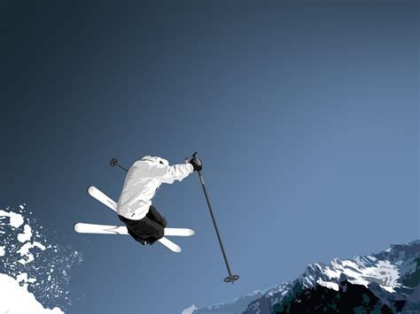 Cool Skiing Wallpaper Wallpapersafari