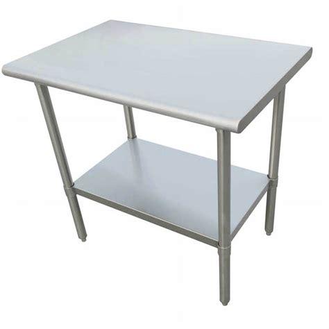 stainless steel table l sauber stainless steel work table 24l x 24w x 36h